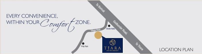 JVM Tiara Location Map