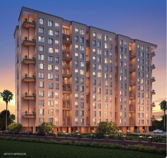 1 & 2BHK Flats in Ambernath Mumbai in Amrut Raj Regalia - Sqmtrs