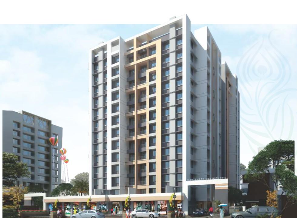 1 & 2 BHK Flats & Shops in  Ambernath (W) - 421505 in Harishree Residency 1