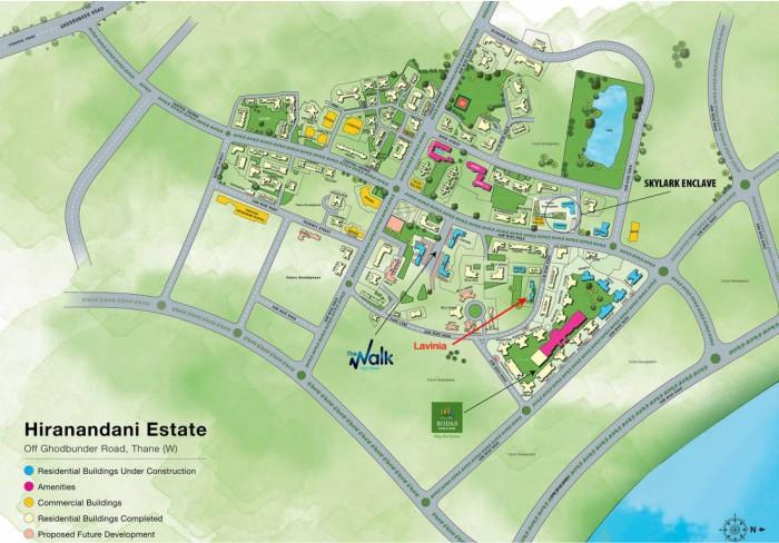 Skylark Enclave Location Map