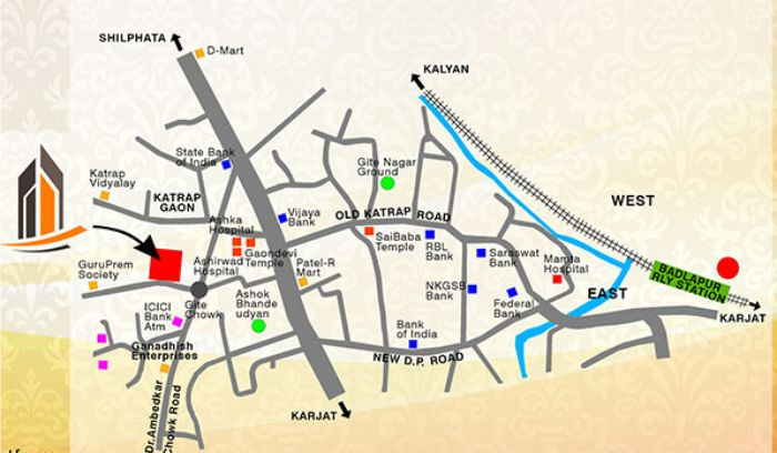 Ganadhish Parshuram Plaza Location Map