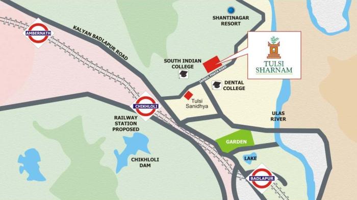 Tulsi Sharnam Location Map