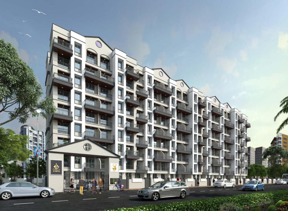 1 & 2 BHK Flats & Shops in Ambernath (West) - 421501 in JK Kasturi
