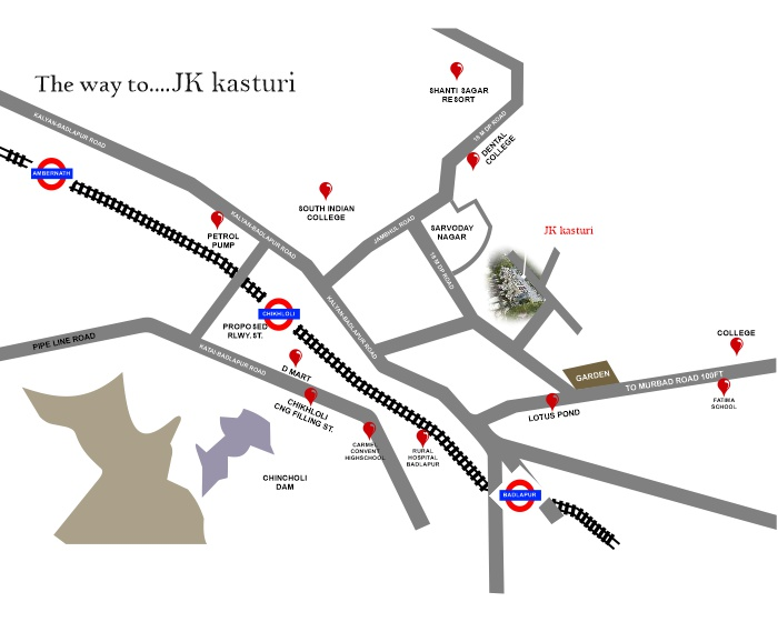 JK Kasturi Location Map