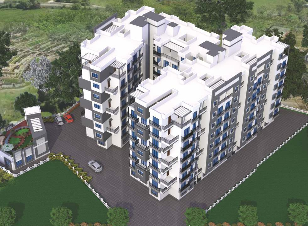 1 & 2BHK Flats in Badlapur in Sagar Aradhana - Sqmtrs