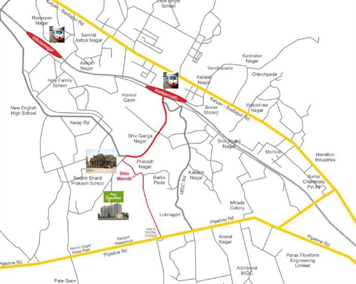 Patel Signature Location Map