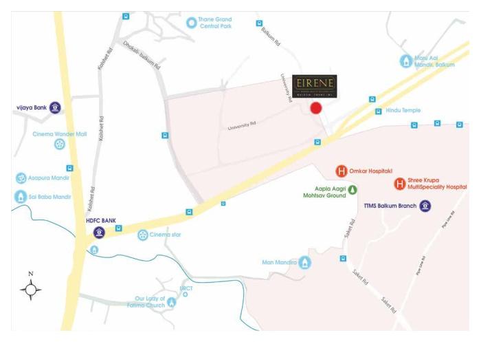 Runwal Eirene Location Map