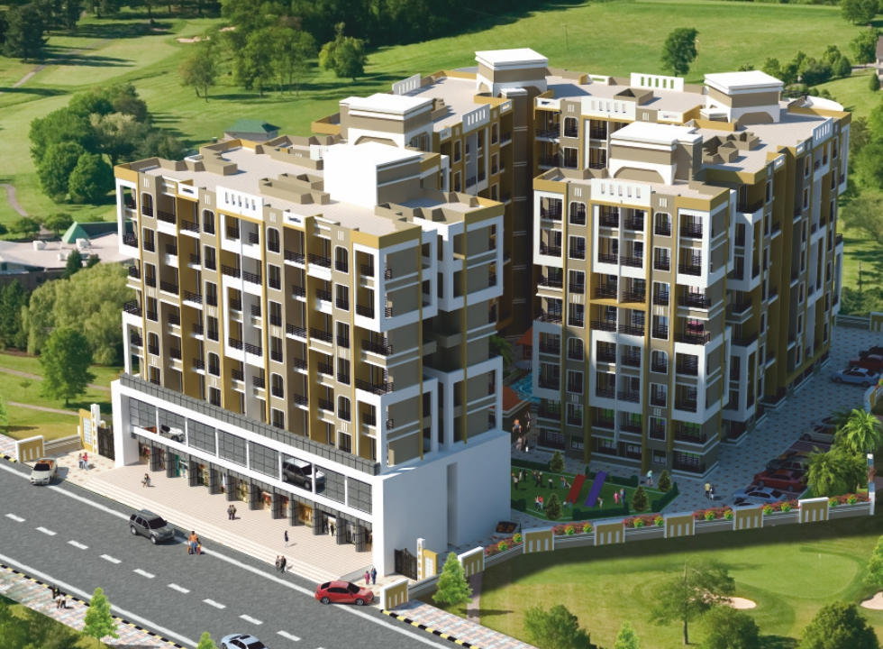 1 BHK Flats in Badlapur West Mumbai in Hawares Leela Angan - Sqmtrs