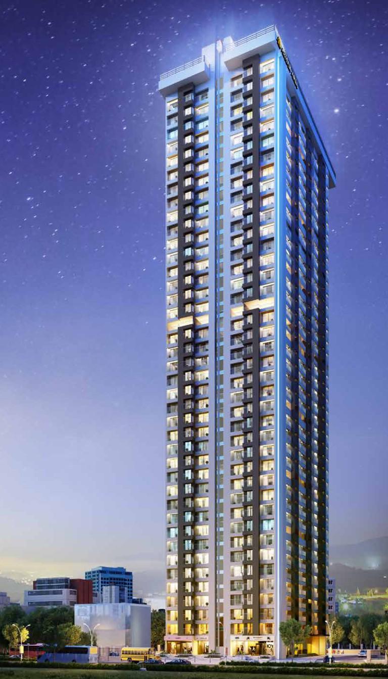 1 & 2 BHK Flats in Ambernath West Mumbai in Ashar Aria - Sqmtrs