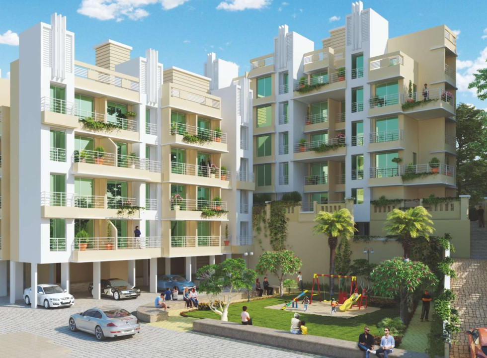 1 & 2 BHK Flats in Badlapur West Mumbai in Soham Shubh Aarambh - Sqmtrs
