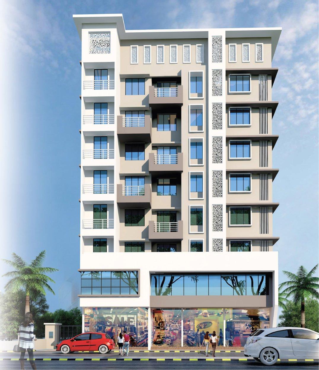 1 & 2 BHK Flats & Shops in Ambernath East - 421501 in Prakruti Sparsh