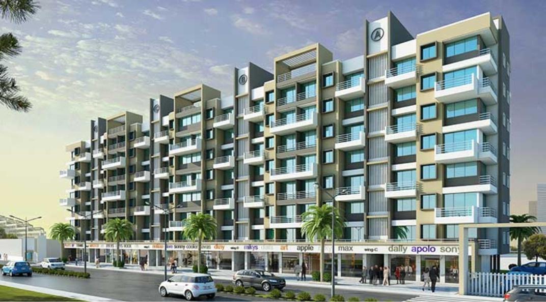 1 BHK Flats & Shops in Ambernath (West) in Patel Prayosha Pramukh Sadan