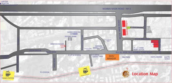 Shree Krupa Keshav Heights Location Map