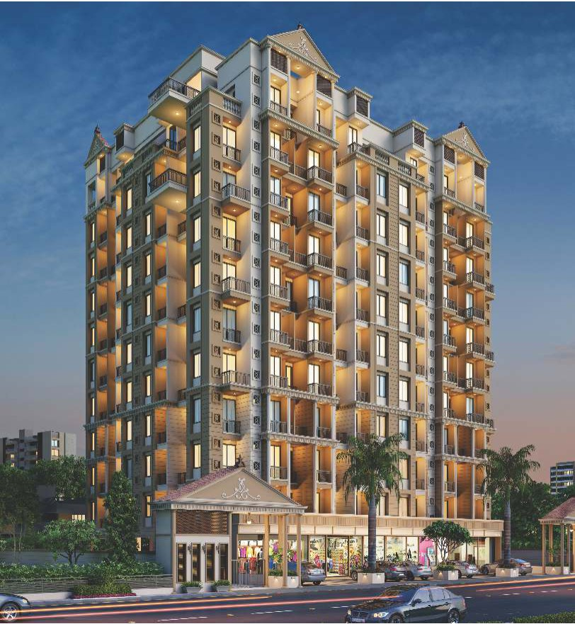 1 & 2 BHK Flats in Badlapur West Mumbai in Akshar Atmiya Heights - Sqmtrs