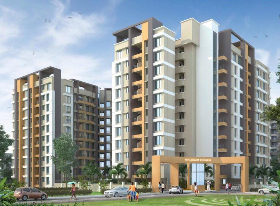 1 & 2 BHK Flats & Shops in Ambernath West in Walekar Homes