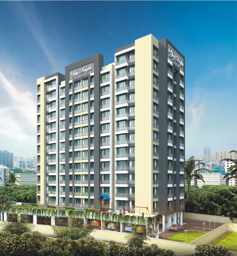 1 & 2 BHK Flats in Shilphata Mumbai in Yug Heights - Sqmtrs