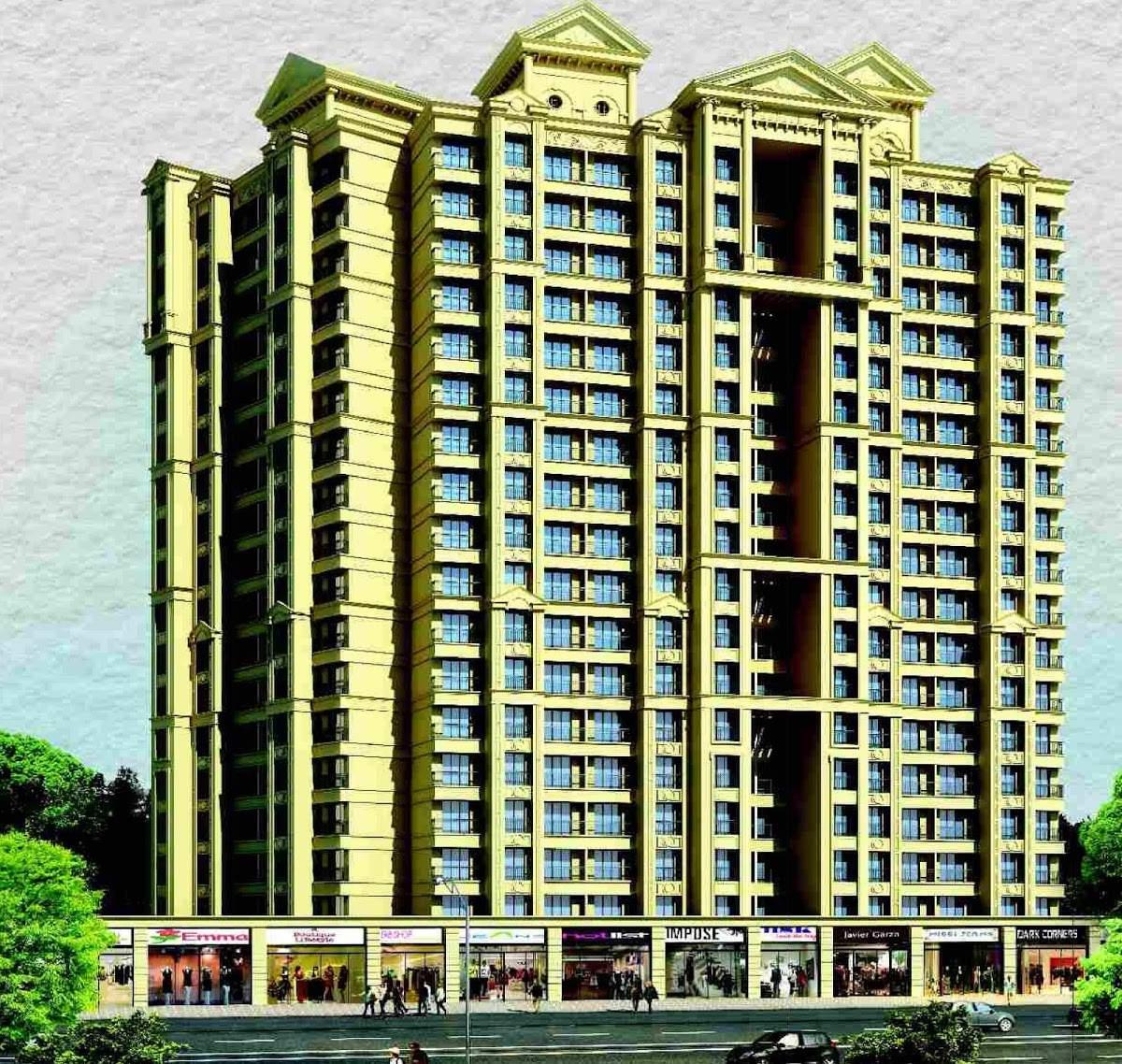 1, 2 & 3 BHK Flats & Shops in Shilphata, Thane in Arihiant Aarohi - Shilphata