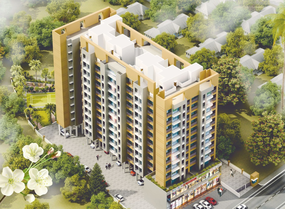 1Rk, 1 & 2 BHK Flats in Dombivli East Mumbai in Dream Home - Sqmtrs