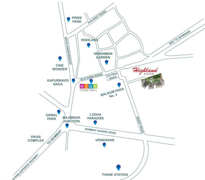 Highland Haven Location Map