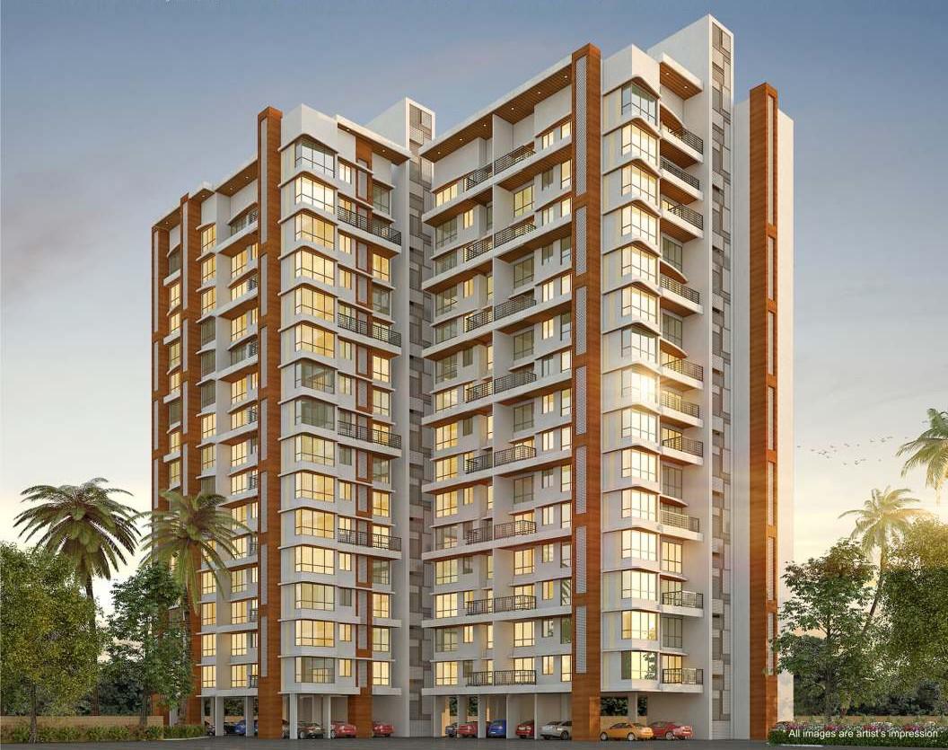 1 & 2 BHK Flats in Balkum Dombivli Mumbai in Balaji Siddhivinayak Complex - Sqmtrs