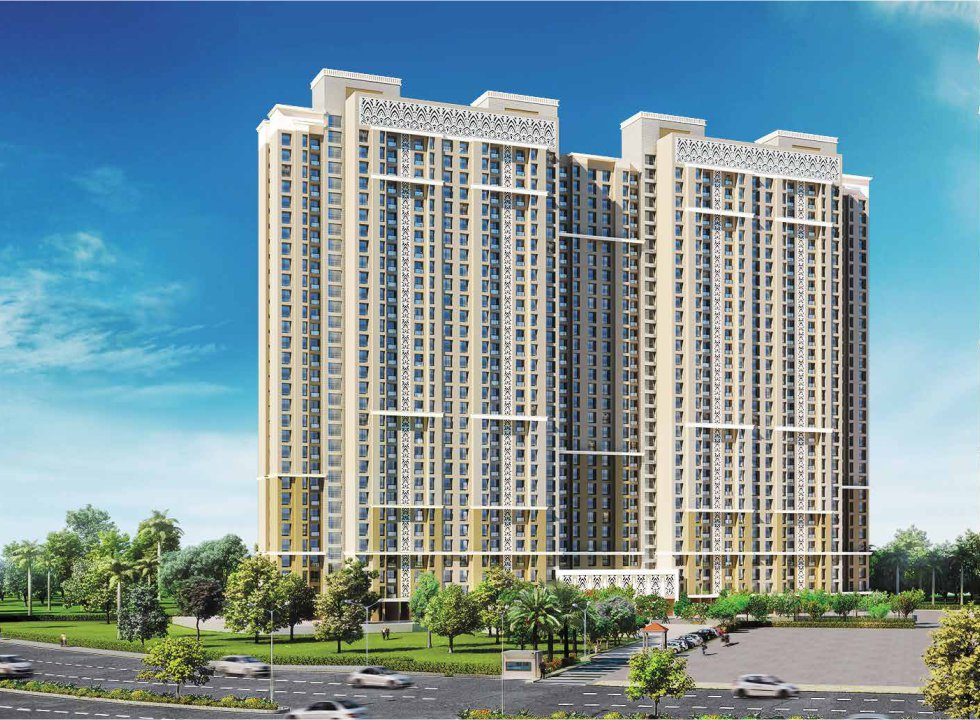 1 & 2BHK Flats in Thane Navi Mumbai in Dosti West County (Dosti Cedar)- Sqmtrs