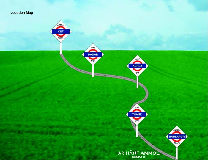 Arihant Anmol Location Map
