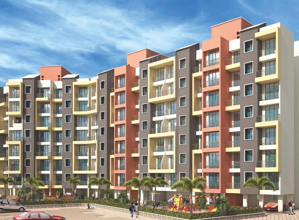 1 & 2 BHK Flats & Shops in Ambivli (W) - 421102 in Virat Vastu
