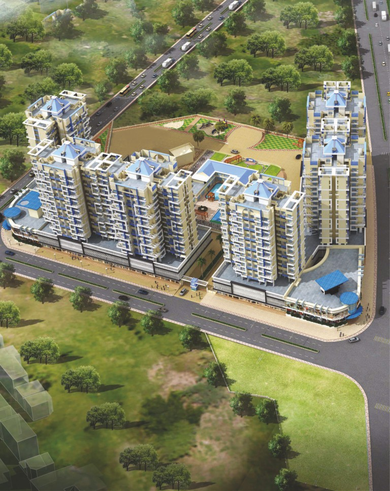 1 & 2 BHK Flats in Bhiwandi Thane Mumbai in Arihant City - Sqmtrs