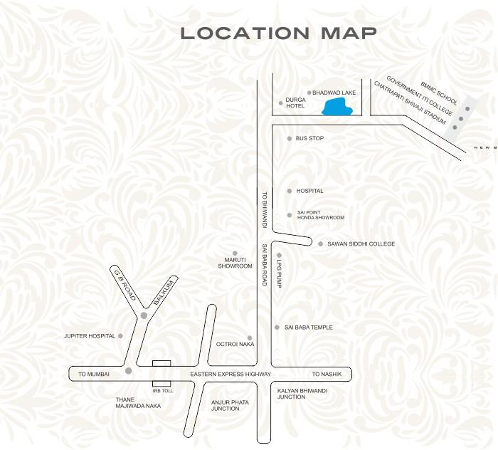 Squarefeet Regal Square Location Map