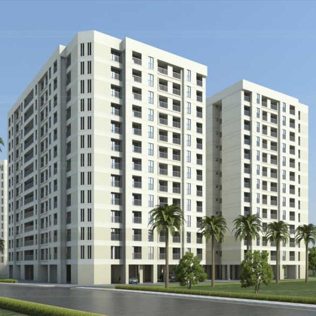 1, 1.5 & 2 BHK Flats in Bhiwandi Thane Mumbai in Ahuja Utsav - Sqmtrs