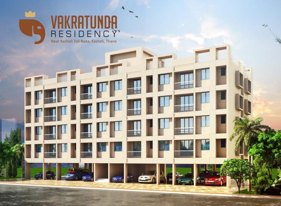 1Rk, 1 & 2 BHK Flats in Kasheli Thane Mumbai in JNB Vakratunda Residency - Sqmtrs